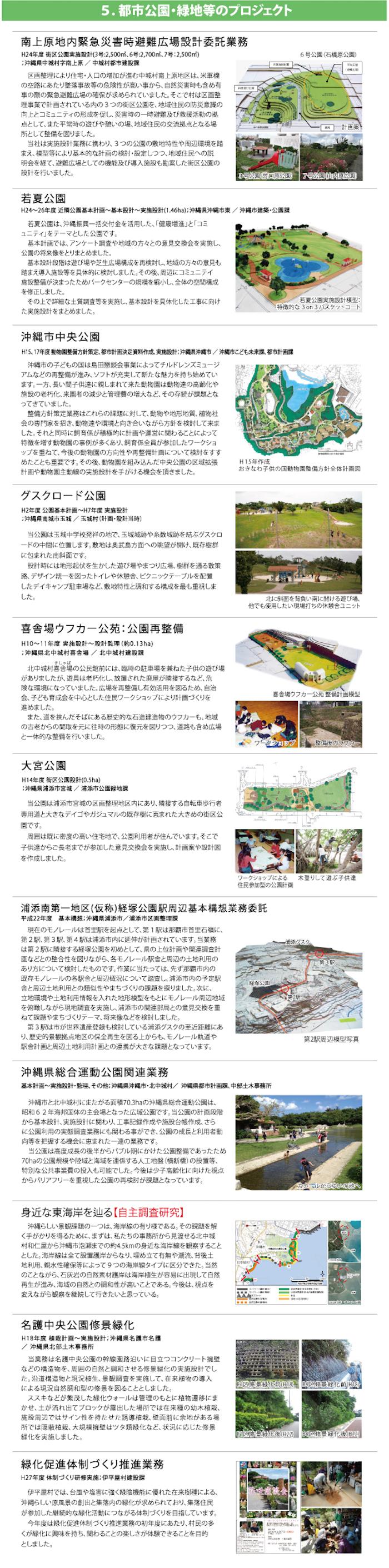 5.都市公園・緑地等のプロジェクト